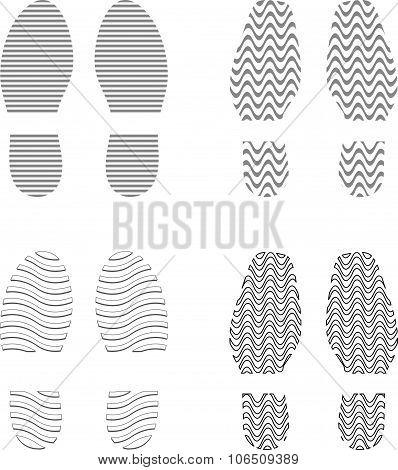Shoe Prints