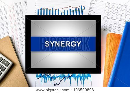 Synergy Word On Tablet