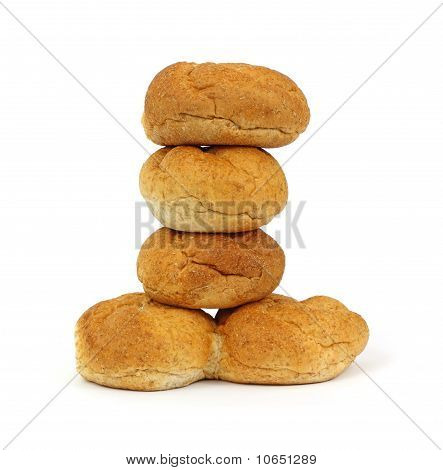 Bulky Wheat Roll Stack