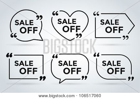 Sale off vector tags banner. Sale vector banners and Sale label icons. Shop discount sale. Free offer, Off banner, promotion, promo, market. Sale vector banners sign. Sale vector icons silhouette