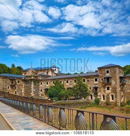 Samos monastery by the way of Saint James in Galicia Lugo
