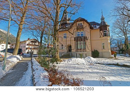 View Of The Charming House In Garmisch-partenkirchen