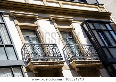 Detail of a facade 14