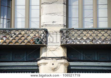 Detail of a facade 15