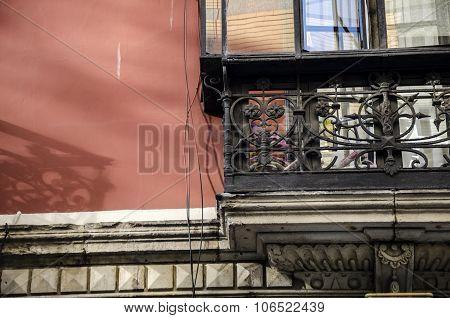 Detail of a facade 21