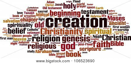 Creation Word Cloud