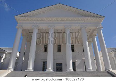 Virginia State Capitol in Richmond