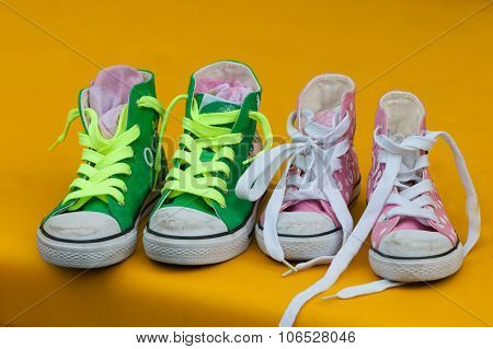Children Athletic Casual Shoes