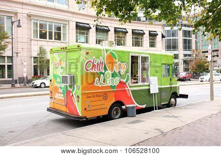 Chili Mango & Lime Food Truck