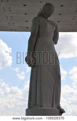 Virginia War Memorial in Richmond, Virginia