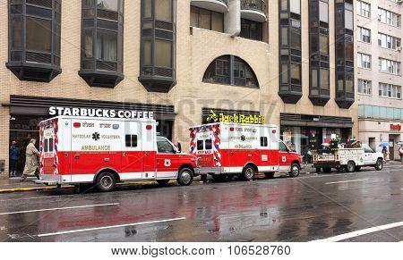 Ems Emergency Vehicle Ambulance