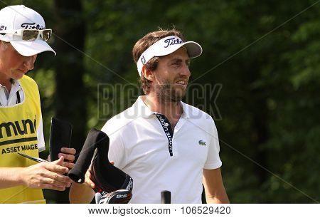 Edouard Espana (fra) At  The Golf French Open 2015