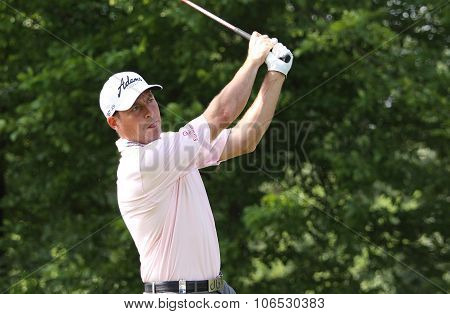 David Howell (eng) At  The Golf French Open 2015