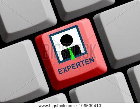 Computer Keyboard - Experts German