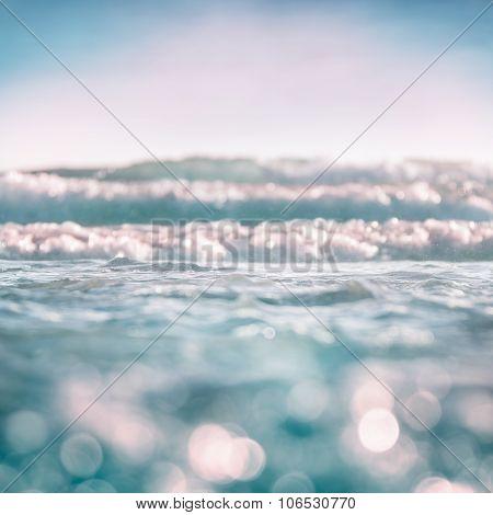 Ocean Wave Bokeh