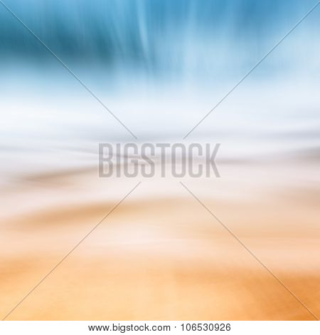 Wave Sand Abstract Seascape