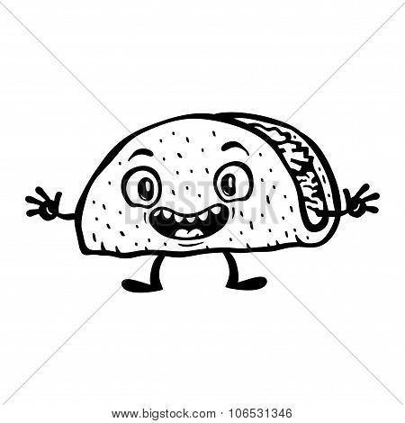 Taco Cartoon