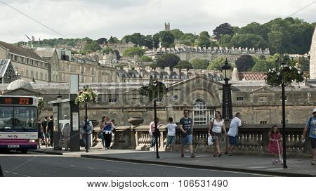 Walking in Bath Spa