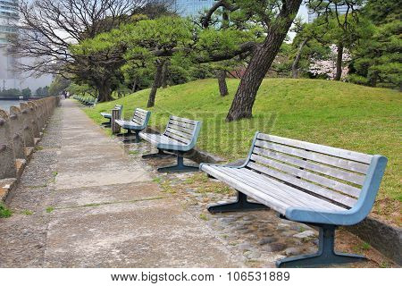 Tokyo Hamarikyu Gardens