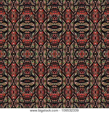 Ethnic Intricate Seamless Pattern