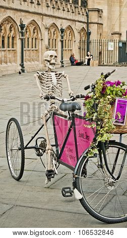 Skeletor In The Bicycle