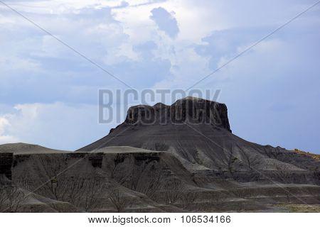 Grey Mountain Plateu In Utah