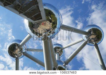 Atomium building, Brussels