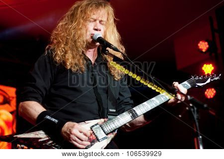 Megadeth live in Brisbane