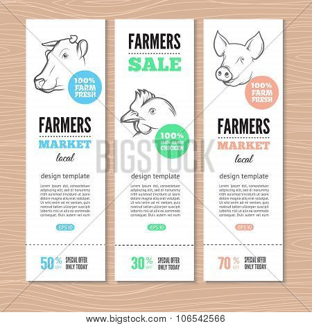 farm vertical banners