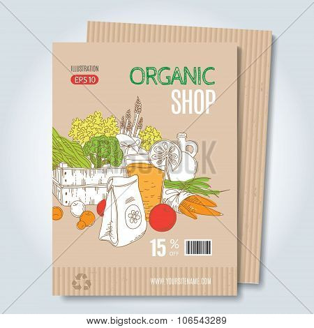 Organic shop template