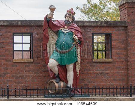 King Gambrinus Statue