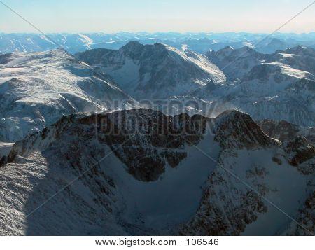 Mt Wood And Granite Peak, Montana