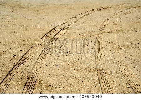 Car Tyre Print
