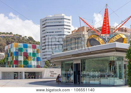 He Pompidou Centre Located In The Marina Complex.