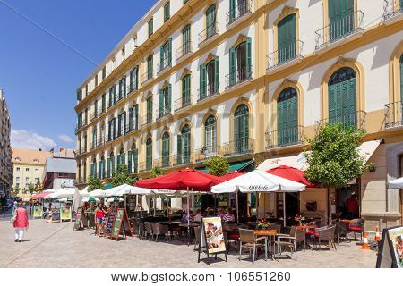 Cafe/restaurants In Plaza De La Merced