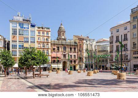 The Plaza de la Constitucion.