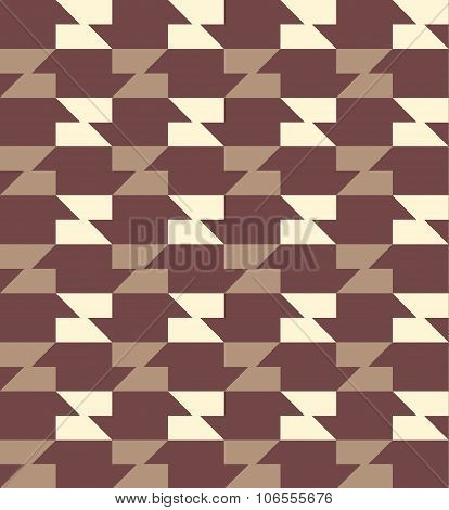 Geometric Seamless Pattern Background With Trapezoid.