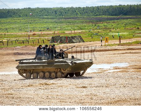 BMP-2 at the proving ground