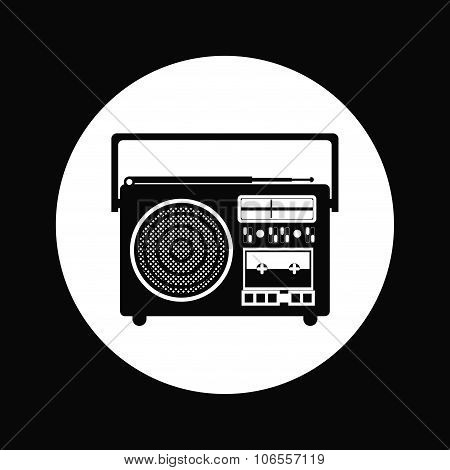 radio portable design