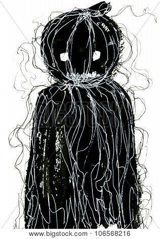 Black Halloween Symbol