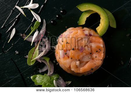 Tartare With Salmon And Onion