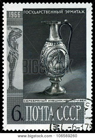 Stamp. Silver Cup.
