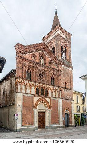 Church Santa Maria In Strada Of Monza