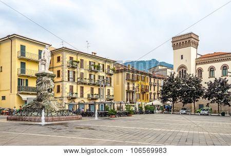 Piazza XX Settembre In The Centre Of Lecco