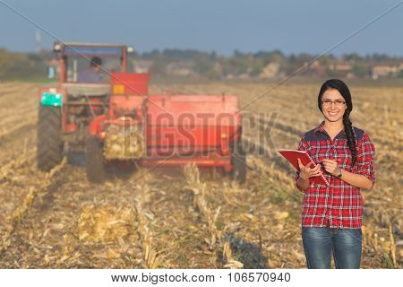 Woman In The Field