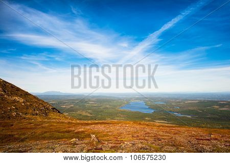 Stunning Views Over Forests And Lakes
