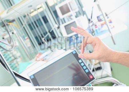 Success Treatment Of Patient In Intensive Care