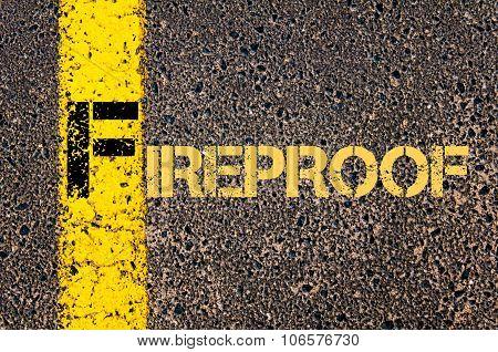 Business Acronym F As Fireproof