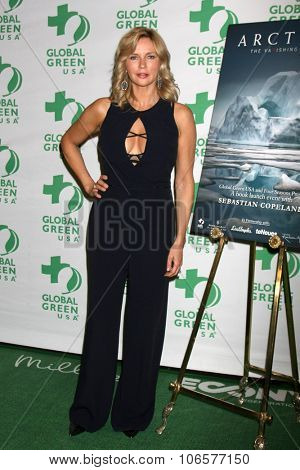 LOS ANGELES - OCT 29:  Veronica Ferres at the Global Green Hosts Book Lauch of