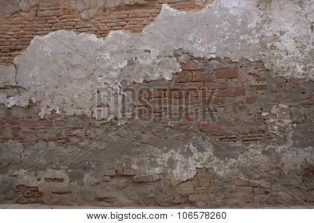 Old Brick Wall: Texture Of Vintage Brickwork - Stone Brick